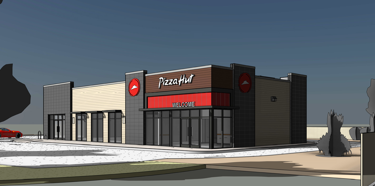 Pizza Hut Coors Render